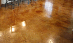 Acid Stained Floors in Dallas Texas