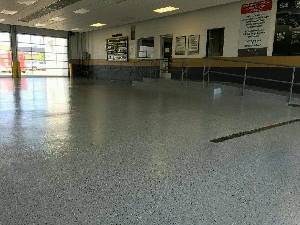 Dallas epoxy pros Shiny Floor Dallas