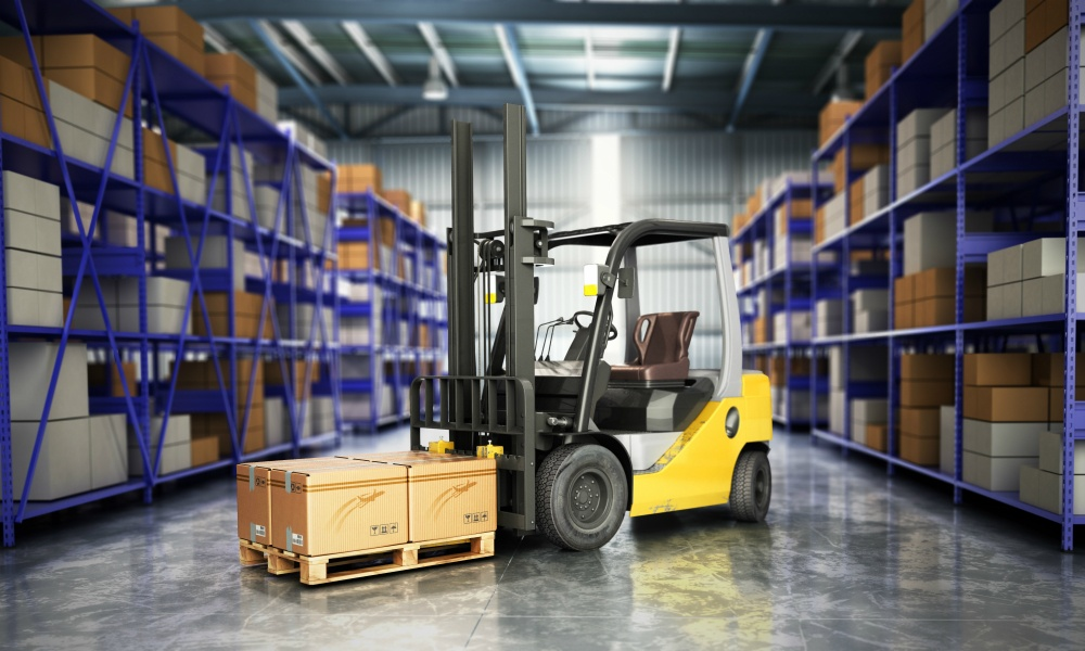 Epoxy Floors Stay Durable when using things such as a forklift