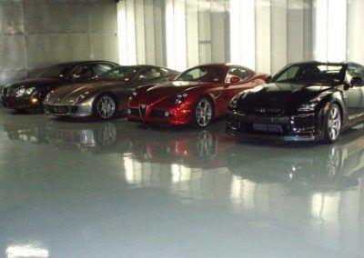 Epoxy Garage Floor Dallas Texas