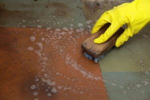Prepare Your Garage for Epoxy Floor Paint by cleaning it