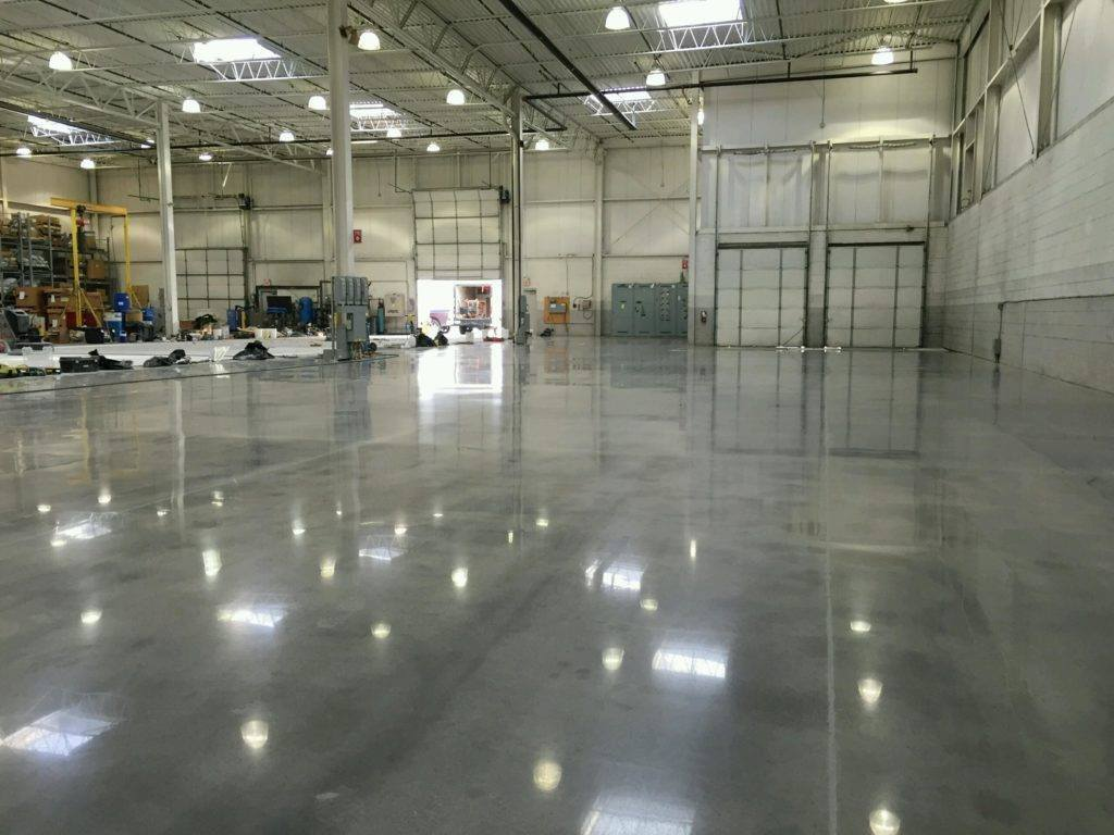 Polished Concrete Warehouse