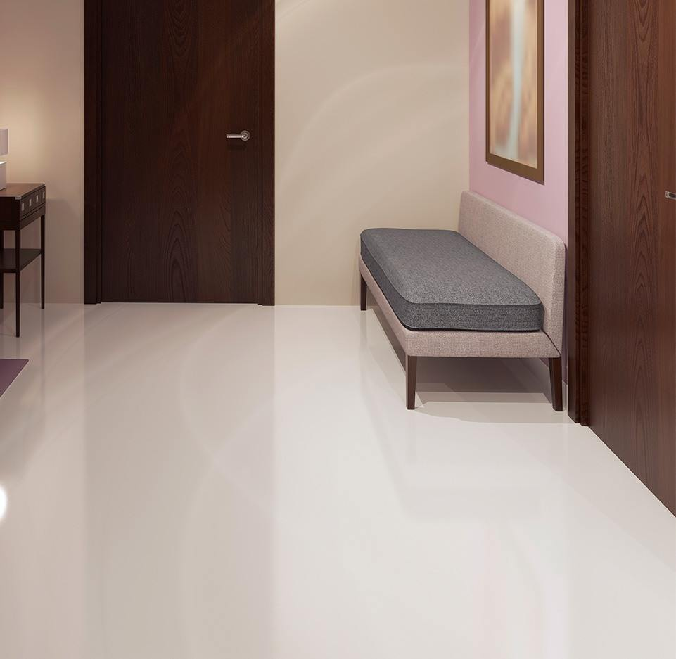 Minimalist polished Concrete